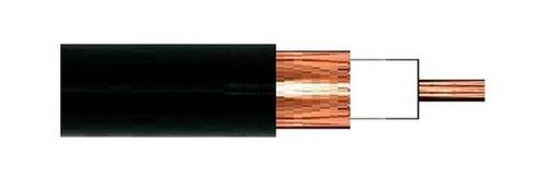 RG-8X (Mini-8) Low-Loss High-Flex 50-Ohm Coaxial Cable - Per Foot