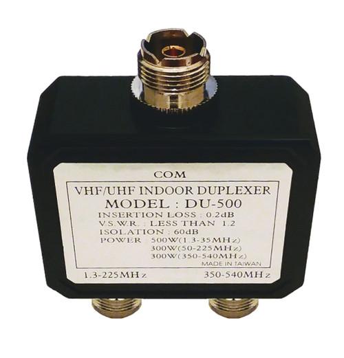 DU-500UF - HF VHF UHF Ham Radio Duplexer - SO-239 Connectors