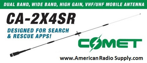 Radio antenna Gain vhf mobile