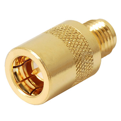 SMA Male-Female Quick Disconnect Push-On Coaxial Adapter Connectors
