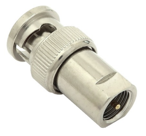 BNC-Male to FME-Male Coaxial Adapter Connector