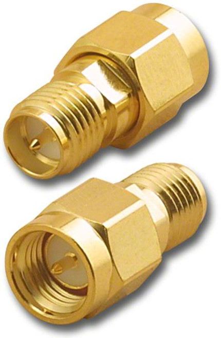 RP-SMA-Female to SMA-Male Coaxial Adapter Connector