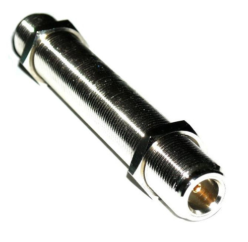 6-Inch - Type N Double Female Bulkhead Connector