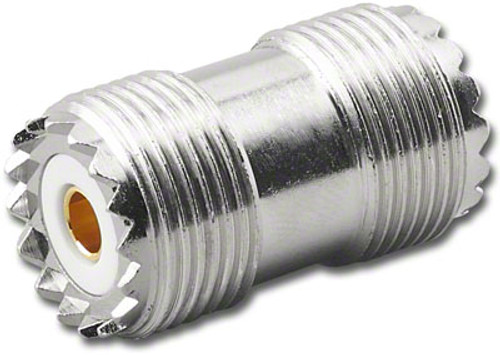 UHF Double Female Barrel Coaxial Adapter Connector - G517