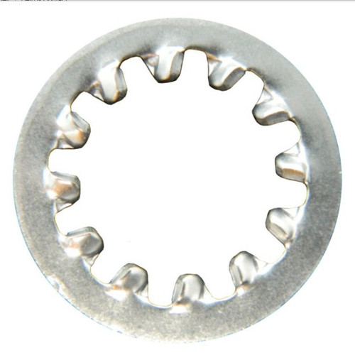 Large Star Washer Type N Bulkhead Feed-Thru Connectors Stainless Steel