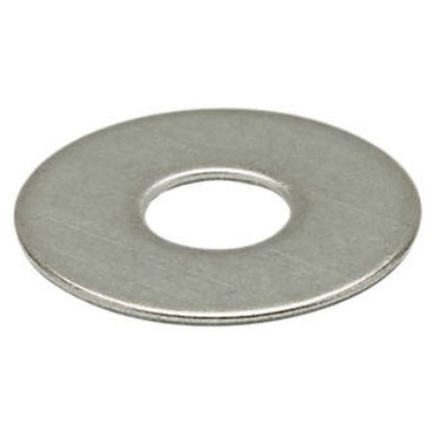 Oversized Washer for Type N-Female Bulkhead Connectors Nickel Plated Brass