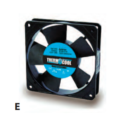 Thermocool Axial Cooling Fan - 120V - Model G12038MAB
