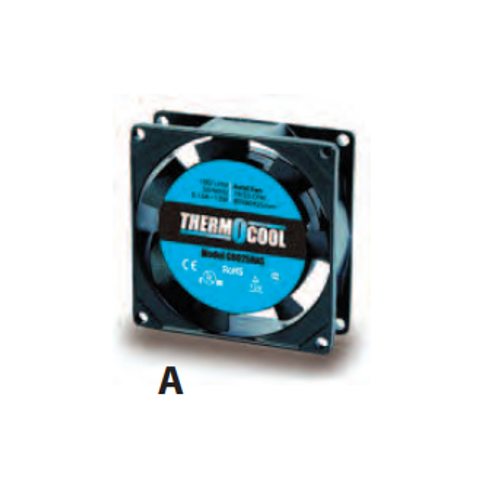 Thermocool Axial Cooling Fan - 120V - Model G8025HAS