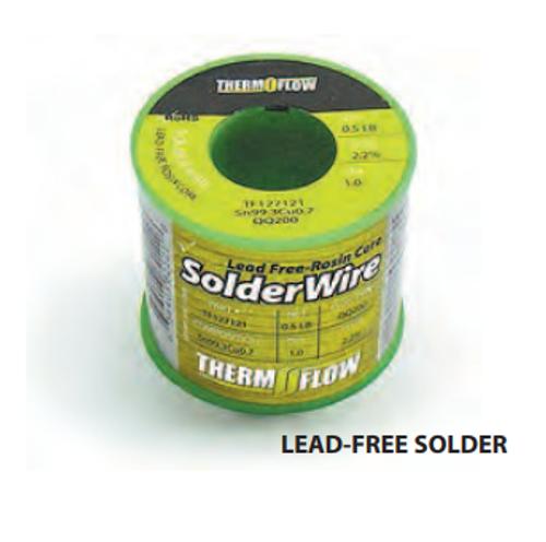 Thermoflow QQ-200 Lead Free Solder - TF127121 - ½ lb roll