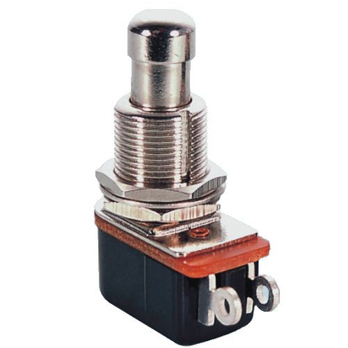 Push Button Switch Off/On SPST 2P 4A 125VAC - P/N CES-66-2430