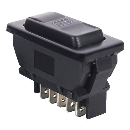 Illuminated Automotive Switch DPDT 5P 20A/12VDC - CES-66-2299