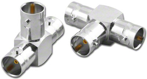 BNC All Female Tee 'T' Coaxial Adapter (BNC-3375-75)