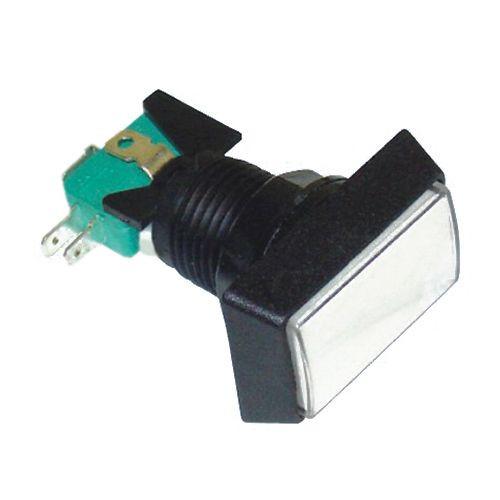 AMBER - Illuminated Game Switch NO/NC 5A 12VDC  - CES-GMSI-3B-RA