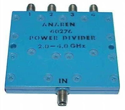 Anaren 40276 - 4-Way Power Divider Splitter 2 to 4 GHz