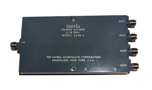 Narda Microwave 4456-4 - 4-Way Wilkinson Power Divider