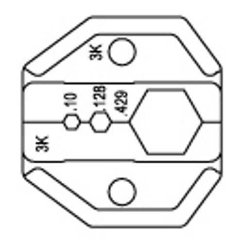Coaxial Crimp Tool Die - PHT-73-307D