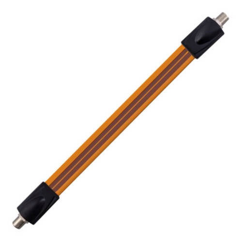 Flat Window Feed-Through Flexible RG-6 Coaxial Cable
