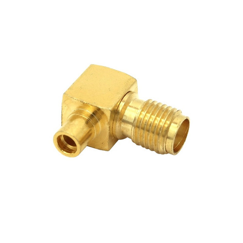 MMCX Jack to SMA Female Elbow Coaxial Adapter Connector - ARS-H203