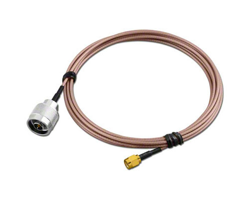 3-Foot - Type N Male to RP-SMA Reverse Polarity RG-316 Coaxial Cable