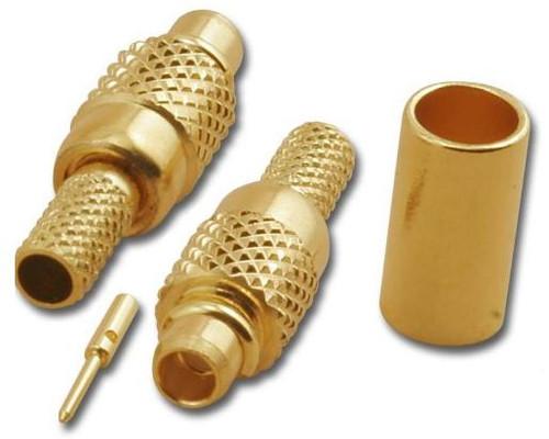 MMCX-Plug Crimp Connector for RG-174 & RG-316 - MMC-2101