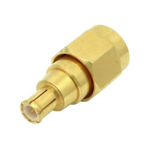 MCX Plug to SMA Male Coaxial Adapter Connector - ARS-H102
