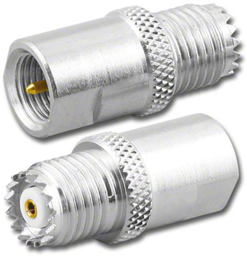 Mini-UHF Female to FME Male Coaxial Adapter (RFA-8252)
