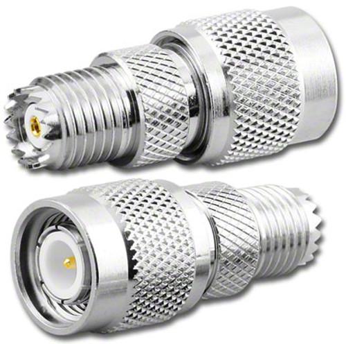 Mini-UHF Female to TNC Male Coaxial Adapter (RFA-8423)