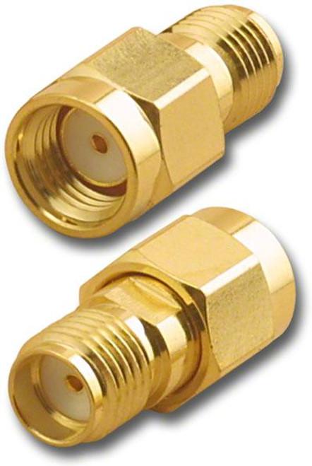 RP-SMA-Male to SMA-Female Coaxial Adapter (RFA-8883)