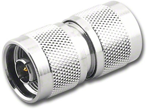 N Double Male Barrel Coaxial Adapter Coupler