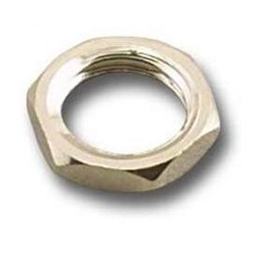 Nickel Plated Hex Nut for SMA-Female Connector - 50-Pack (SMA-HN8-N)