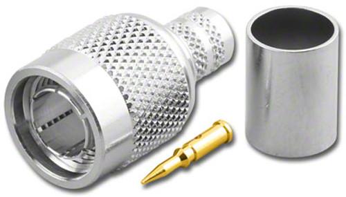 TNC Straight Male (Plug) Crimp Connector for Belden 8281 (TNC-3426-75)