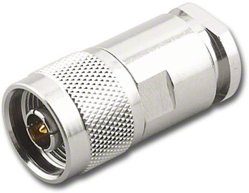 Type N-Male Coaxial Cable End Compression Connector for RG-8 UG-1185/U