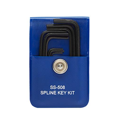 SS-508 - Bristol Spline Key Wrench - 9-Piece Set