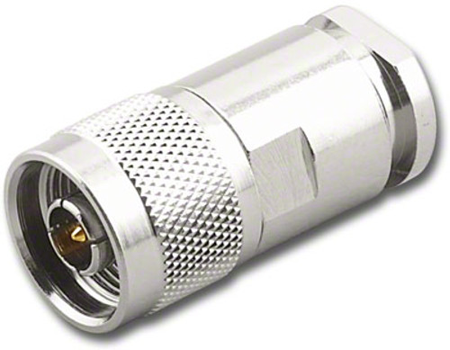 Type N-Male Coaxial Connector for RG-213 Coax Cable - RFN-7661-RG213