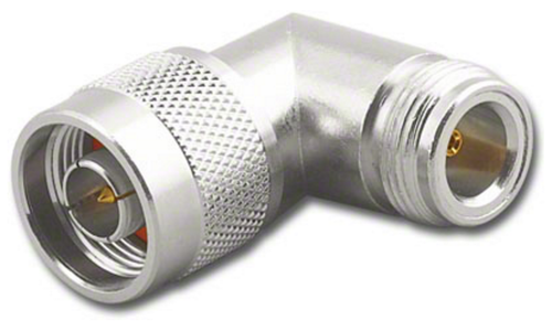 Type N Male / Female Right Angle Elbow Coaxial Adapter Connector