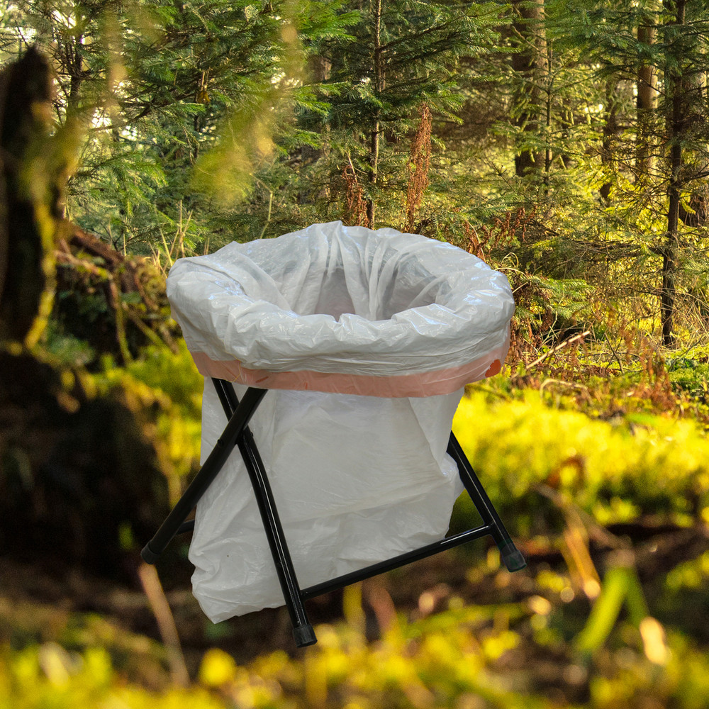 Folding Portable Toilet Seat for Camping and Hiking