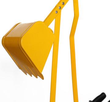 Metal Sand Digger Toy Crane for Sandbox