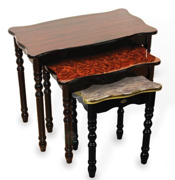 Large Wood Coffee, Accent End Table