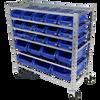 Tradequip Heavy Duty Parts Storage Rack