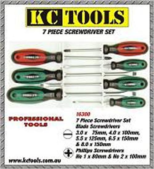 KC Tools 7pce Screwdriver Set 16300