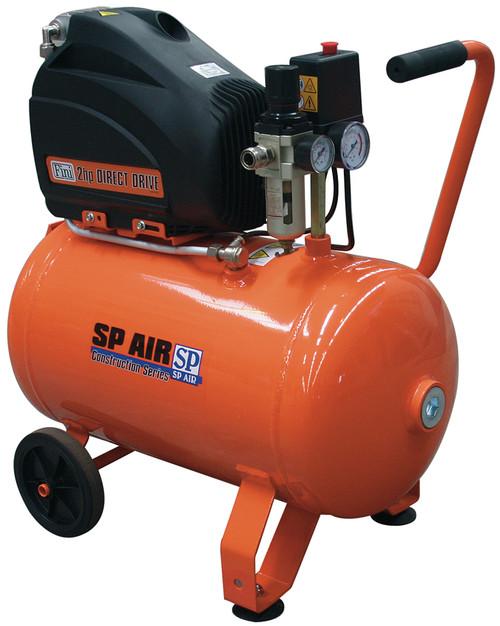 SP Air 2hp Trade Duty Portable Air Compressor