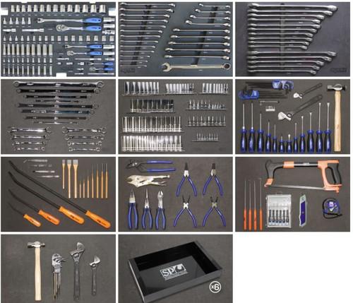 SP Tools 377pce Master Tradesman Toolkit