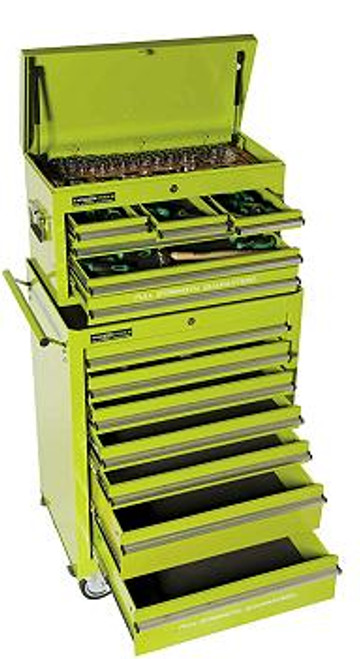 Typhoon 246 Pce AF/MM Tool Kit in Green Toolchest 70902G