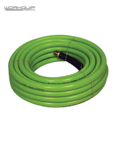 Workquip 10MM X 30MTR AIR HOSE FITTED FLEXIBLE NON-KINK OR CURL 243830F