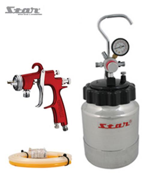 Star 2L Pressure Pot Spray Kit 1.2mm Tip & 2M Twin Hose