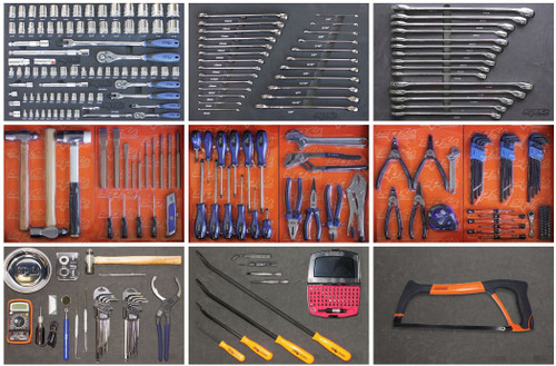 SP Tools 347 Pce AF/MM Custom Toolkit SP50615