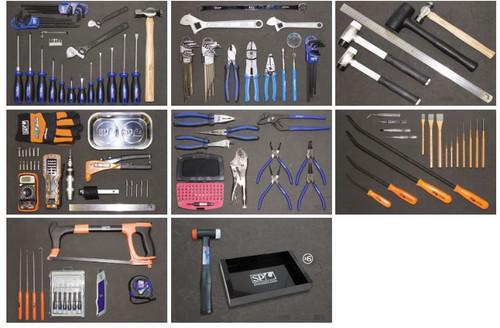 SP Tools 625Pce Mega AF Metric Toolkit Bonus Trays