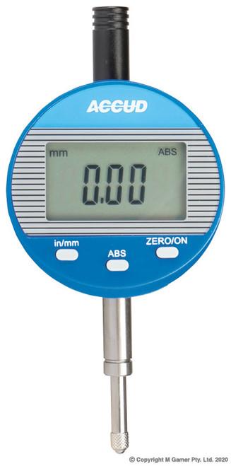 Accud LCD 0-25mm Digital Indicator