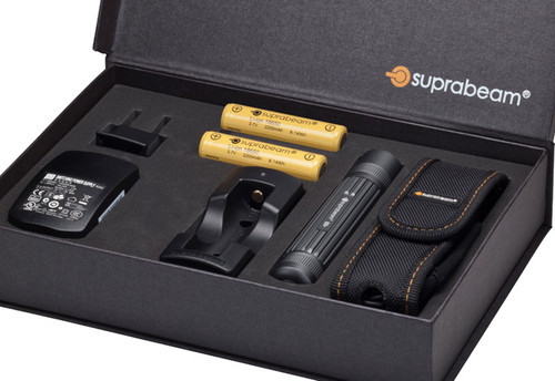 SUPRABEAM RECHARGEABLE COMPACT POWERFUL TORCH PACK SBQ3R
