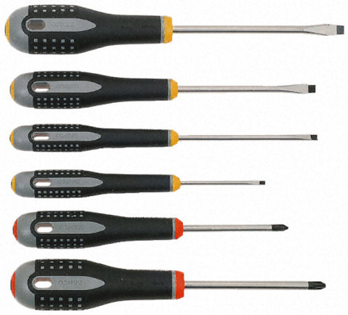 BAHCO ERGO SCREWDRIVER SET BE9881.
